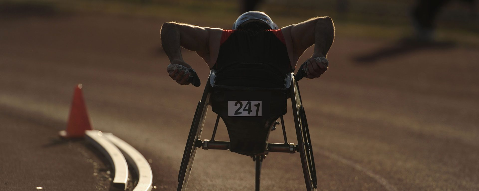 Wheelchair Racing Athletes